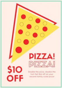 Pizza Sale Flyer Templates