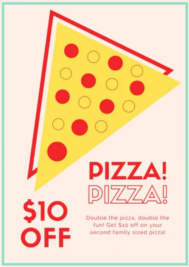 Pizza Sale Flyer Templates