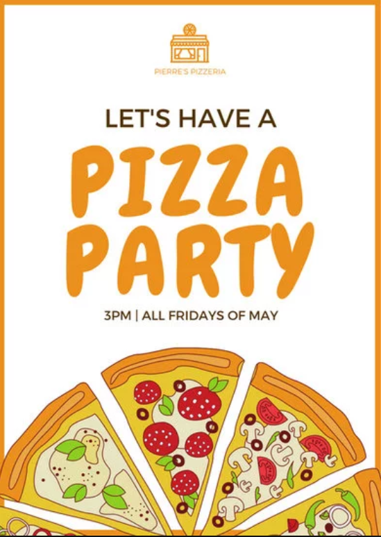 free pizza sale flyer template
