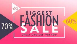 Fashion Sale Discount Voucher
