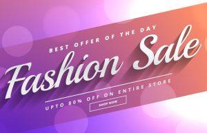 Fashion Sale Discount Voucher Template